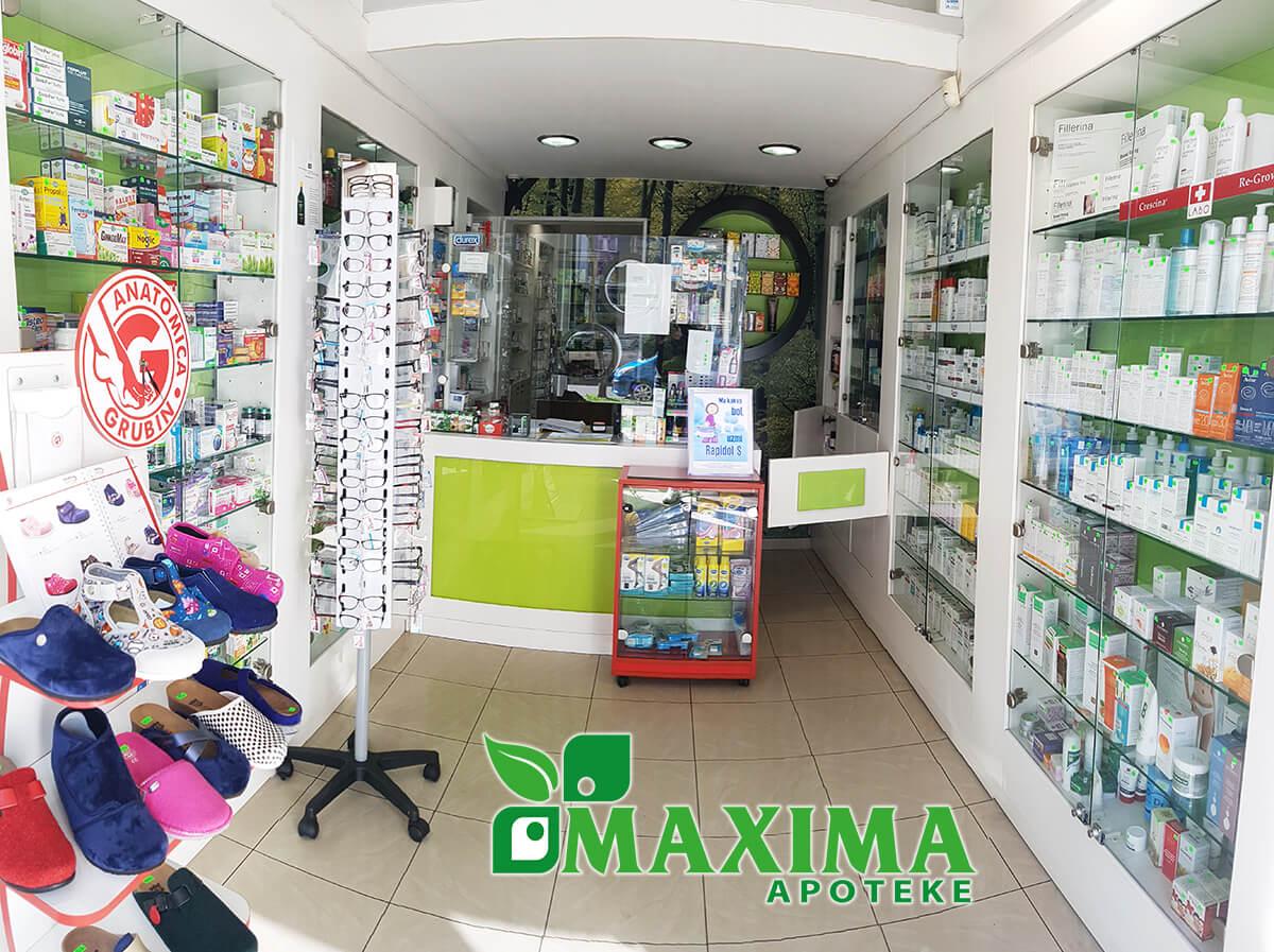 apoteke maxima crna gora